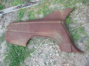 63 64 65 66 Dodge Dart Nos Right Rear 1 4 Panel Outer Skin Solid Oem Rare 0 Rust