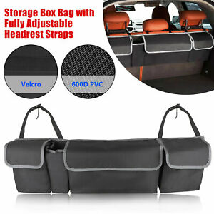 Car Trunk Organizer Car Interior Accessories Back Seat Storage Box Bag Oxford Us