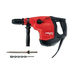 Hilti 120 volt max Te 70 avr Corded Rotary Hammer Drill Kit New With Case