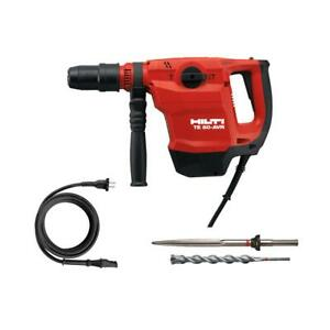 Hilti Te 50 avr 120 Volt Sds Max Corded Rotary Hammer Drill Kit New In Case