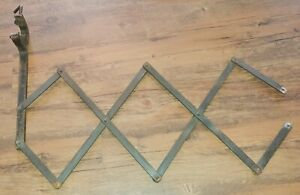 Vintage Luggage Rack Running Board Clamp On Rack Model A Chevy For Parts