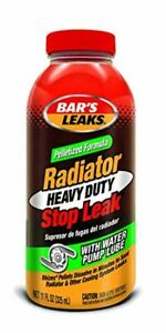 Bar s Leaks Pelletized Hd Radiator Stop Leak Oil Fluid For Car Autmotive 11 Oz