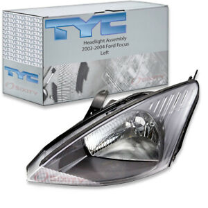 Tyc Left Headlight Assembly For 2003 2004 Ford Focus Ae