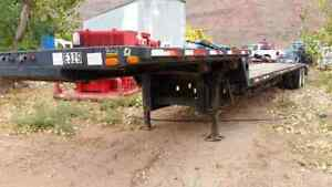 2002 Transcraft T a Step Deck Trailer W Dove Tail