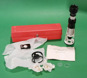 Mpb 3 Measuring Microscope Optical Caliper Brand New Old Stock