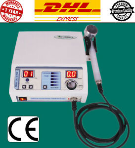 New Ultrasound Therapy 1mhz Machine Pain Relief Chiropractic Pulse Therapy Unit