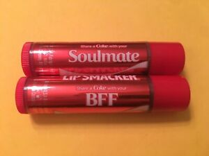 3 Coca Cola Lip Smacker Balms ~ Share a Coke with your Soulmate & BFF +Free Gift