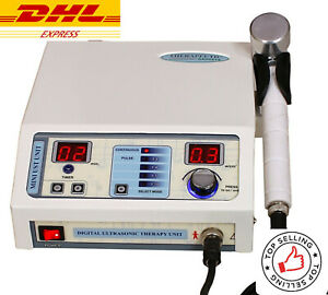 Professional Chiropractic Pulse Unit Ultrasound 1mhz Ultrasonic Therapy Machine
