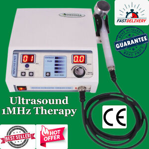 New Ultrasound Therapy Machine 1mhz Pain Relief Chiropractic Pulse Top Selling U