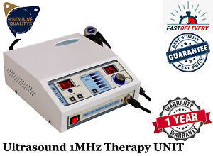 Chiropractic Portable Ultrasound Therapy Machine Pain Relief 1 Mhz Therapy Unit