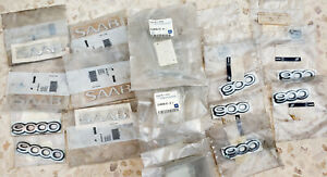 Saab Car Logo Emblem 900 9000 Saab 93 Oriiginal Oem New Emblem Lot Of 23