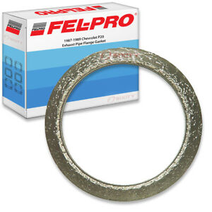 Fel Pro Exhaust Pipe Flange Gasket For 1987 1989 Chevrolet P20 Felpro Go