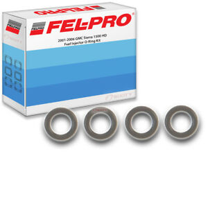 Fel Pro Fuel Injector O Ring Kit For 2001 2006 Gmc Sierra 1500 Hd Felpro Uw