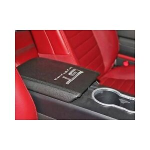 2005 2009 Mustang Console Armrest Cover W Gt Logo