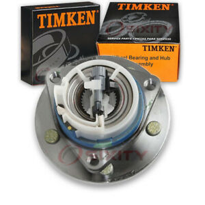 Timken Front Wheel Bearing Hub Assembly For 1997 2001 Buick Regal Left Tw