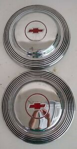 Chevrolet 1965 66 Hubcaps Belair biscayne chevelle impala malibu 1 Pair