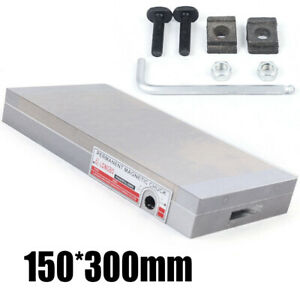 Epidemic 6x12 Inch Fine Pole Magnetic Chuck Machining Workholding Permanent Che