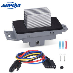 Hvac Blower Motor Resistor Kit With Harness Fit For Chevy Gmc Vehicles 1580567