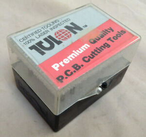 Tulon Pcb Cutting Tools Solid Carbide 32 Piece Micro Drill Bits