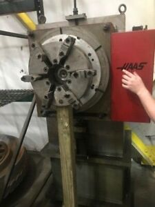 Haas Rotary Table 15 6 Jaw With Servo Control