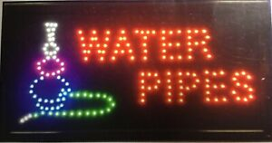 Water Pipe Neon Led Sign cbd Store Sign business Sign smoke Shop Sign window Si