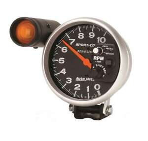 Autometer 5in Sport Comp Monster Tach W Recall 3906