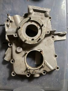 Porsche 356 A 1957 Third Piece Timing Cover Engine Motor 66007