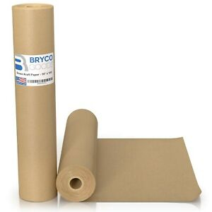Brown Kraft Paper Roll 18 X 1 200 100 Made In The Usa Ideal For Pack