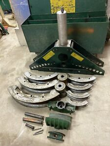 Greenlee 885 Hydraulic Rigid Pipe Bender 1 1 4 5 Ips Tubing 884 Ed4u Sm1001