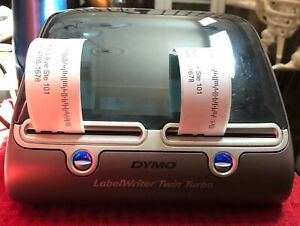 Dymo Labelwriter Twin Turbo Thermal Label Printer With Scale