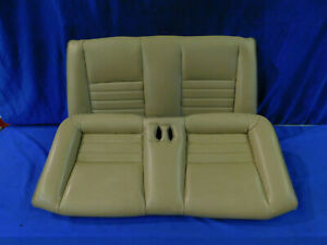 99 00 01 02 03 04 Mustang Conv Tan Rear Leather Seat Upper Lower Seats G66