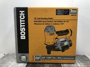 Bostitch Brn175a 15 Degree Coil Roofing Nailer New Free Shipping