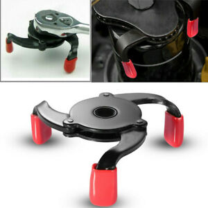 Adjustable Universal 2 Way Oil Filter Wrench Auto 3 Jaw Car Remover Tool Socket