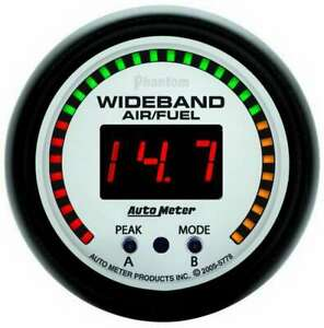 Autometer 2 1 16in P S Wide Band Air Fuel Gauge 5778
