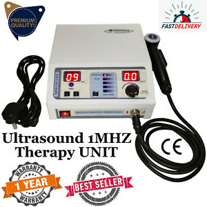 Ultrasound Therapy Machine Physiotherapy Ultrasonic 1mhz Chiropractic Pulse Unit
