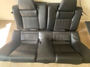 2010 2014 Ford Mustang Gt Leather Front Rear Coupe Seats Hot Rod Restomod