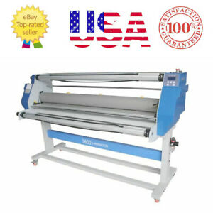 Pro 60 Full auto Take Up Format Hot Cold Seal Laminating Machine Local Pickup