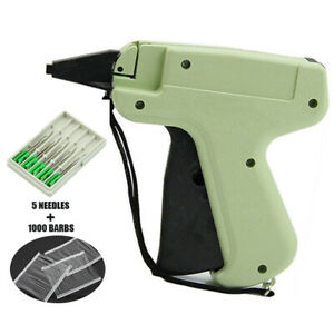 Clothes Price Label Tagging Machine 1000 Tag Pins 5 Needles Accessories Shop