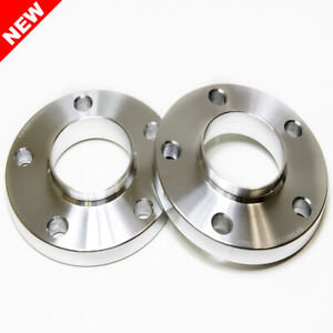 2x 20mm Silver Wheel Spacers W Hubcentric Lip 5x120 74 1 Cb Tunerlugs Brand