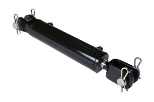 Ag Clevis Hydraulic Cylinder Welded Double Acting 2 Bore 14 Stroke Wbc 2x14new