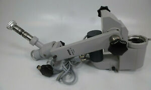 Zeiss Opmi 6 s Surgical Microscope Body W Power Zoom Lamp Mounting Arms X y