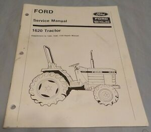 Good Used Ford 1620 Tractor Service Manual New Holland 40132022