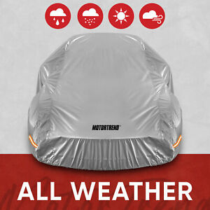 Motor Trend All Weather Waterproof Car Cover Advanced Protection Formula Small