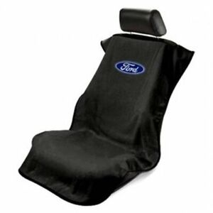 1 Seat Armour Seat Protector Cover towel With Ford Logo Fits Most Front Seat