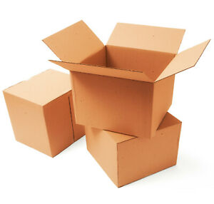8x8x8 Cardboard Corrugated Box Cartons Moving Packing Mailing Shipping