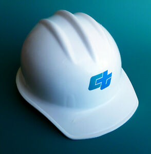 Vintage Caltrans Hard Hat Bullard Model 302 Cap White