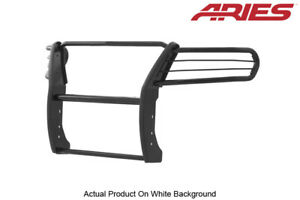 Aries Black Semi Gloss Grille Brush Guard For 15 20 Chevy Gmc Colorado Canyon
