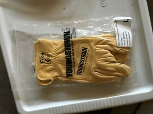 Youngstown Fr Hrc3 Waterproof Leather Kevlar Utility Plus Work Gloves Size Lg