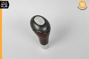 03 06 Mercedes W220 S500 Cl500 Keyless Go Shift Shifter Knob Black Wood Oem
