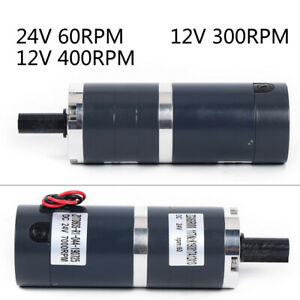 12 24v 8w Permanent Magnet Electric Dc Motor High Speed For Generator Zgx60rmm